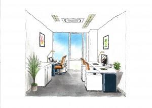オフィスプラス部屋